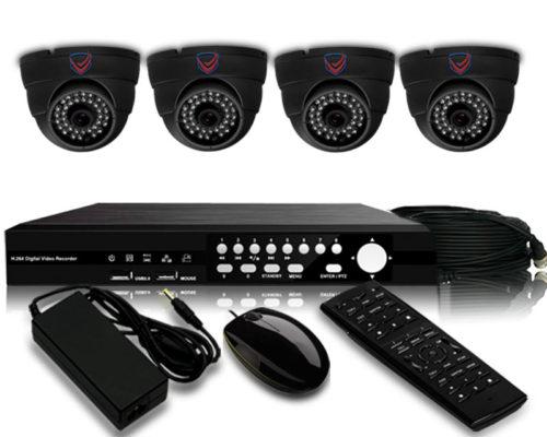 500 TVL CMOS CCTV Package